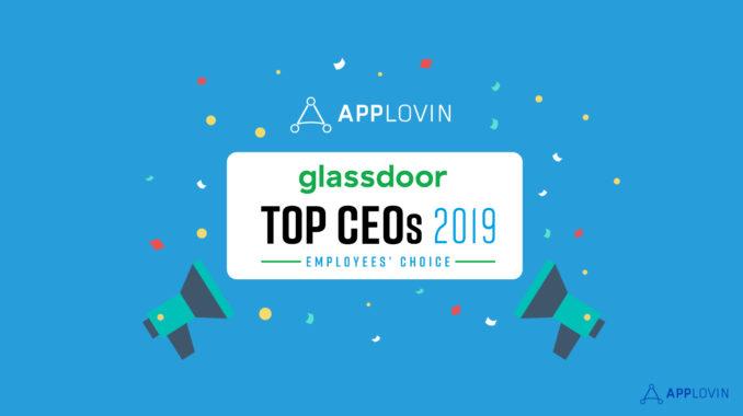 Glassdoor Top CEO 2019 - Adam Foroughi