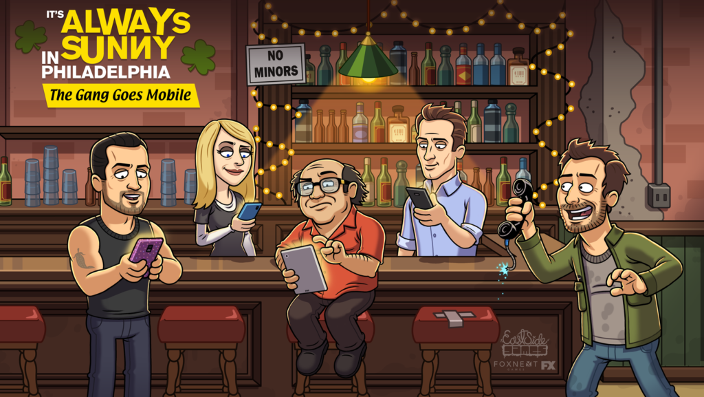 It's Always Sunny mobile game