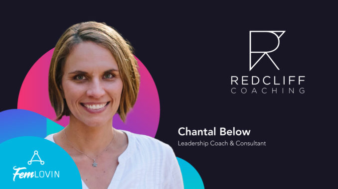 Chantal Below FemLovin Event